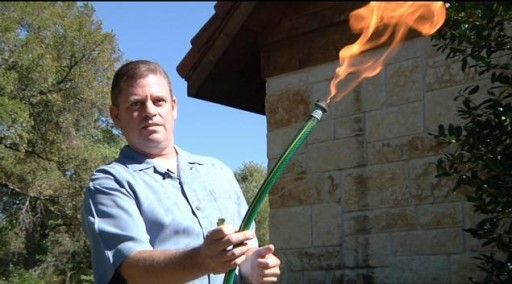 Fracking Opponent Steve Lipsky Who Fabricated Flaming Hose