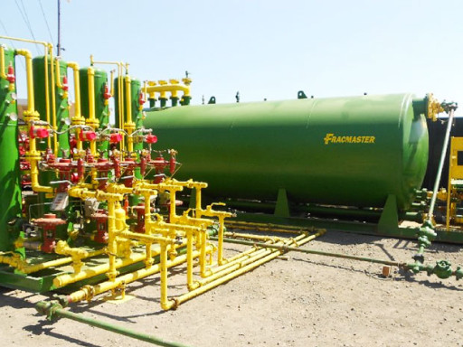 Methane Emissions - Frackmaster Green Completions Equipment