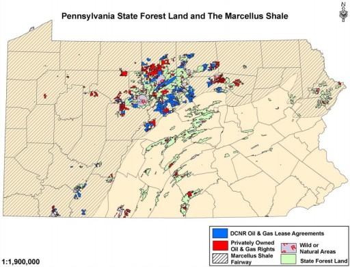 DCNR Gas Leasing