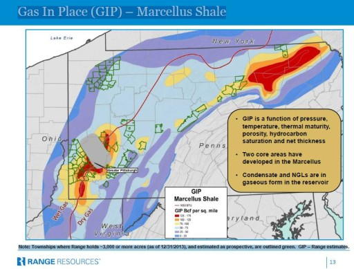 Fracking Data RangeMap