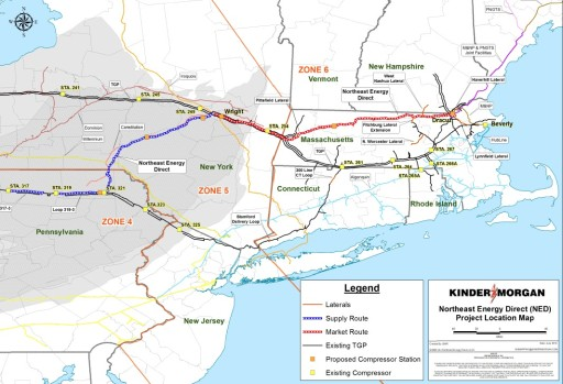 New England pipeline expansions