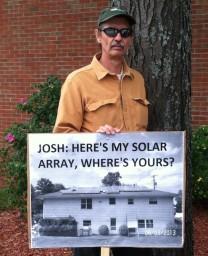 Josh Fox where's the array?