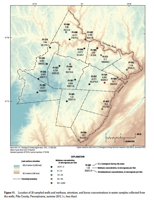 Josh Fox - USGS Map