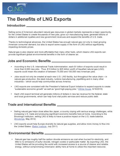 natural gas fact sheets - Benefits_of_LNG_Exports