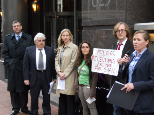 fractivist lobbying sham
