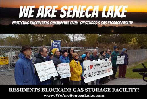 Propane Storage Protestors
