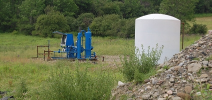 Fracking - Chenango County-gas-well