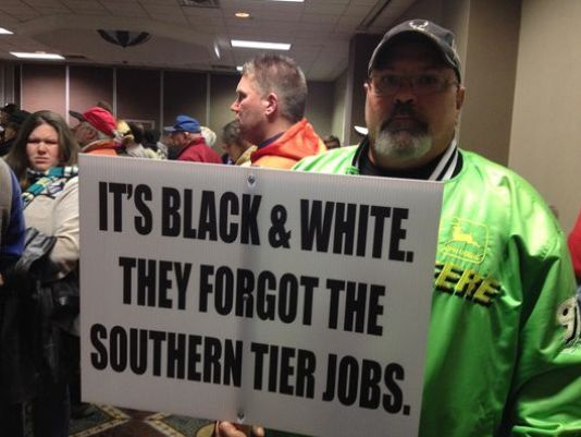 Southern Tier Protest