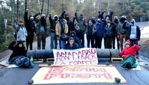 fractivism Anadarko-Lockdown