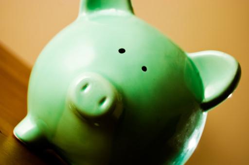 green bank piggy