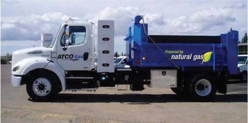 shale gas news ATCO Gas Dump Truck