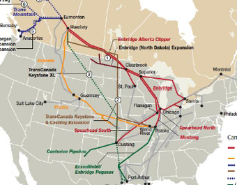 The Warren Buffett War On US Pipelines With Help From Putin - Pipelines in us map