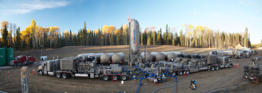 waterless fracking GASFRAC-Husky-Panorama