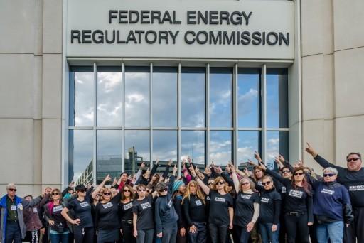 anti-fracking activists