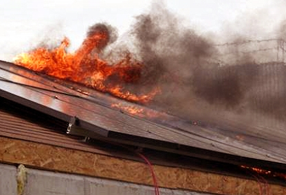 solar-panel-fire-on-roof