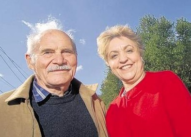 Edward Allees and Inge Grafe-Kieklak