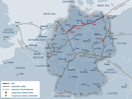 Poland's Natural Gas Distribution