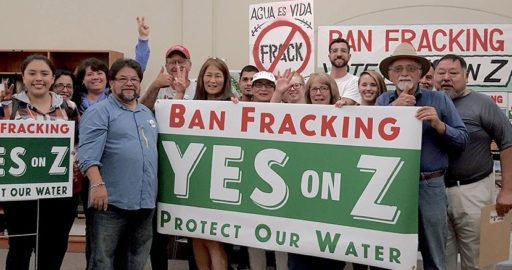 Californian Fracking Ban