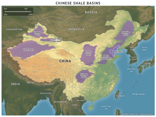 China's Gas Basins