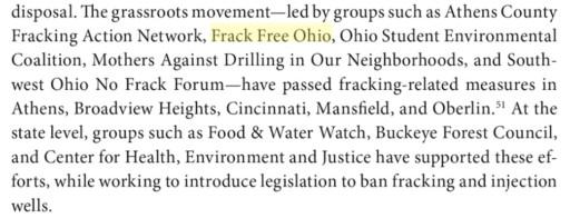 Ohio fractivists