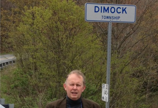 Nick Grealy in Dimock, Pennsylvania