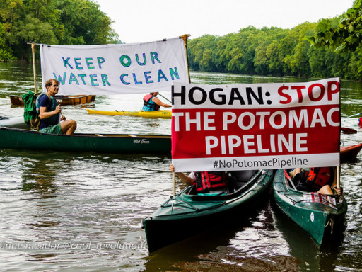 Potomac Pipeline Protests