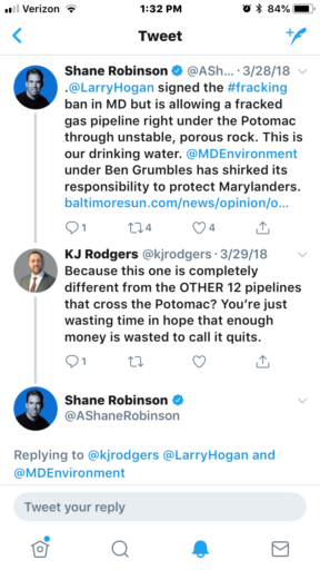 Shane Robinson Science Tweet A