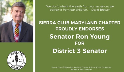 Sen Ron Young joined special interest groups on fracking ban