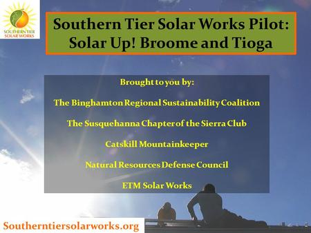 Southern Tier Solar Works