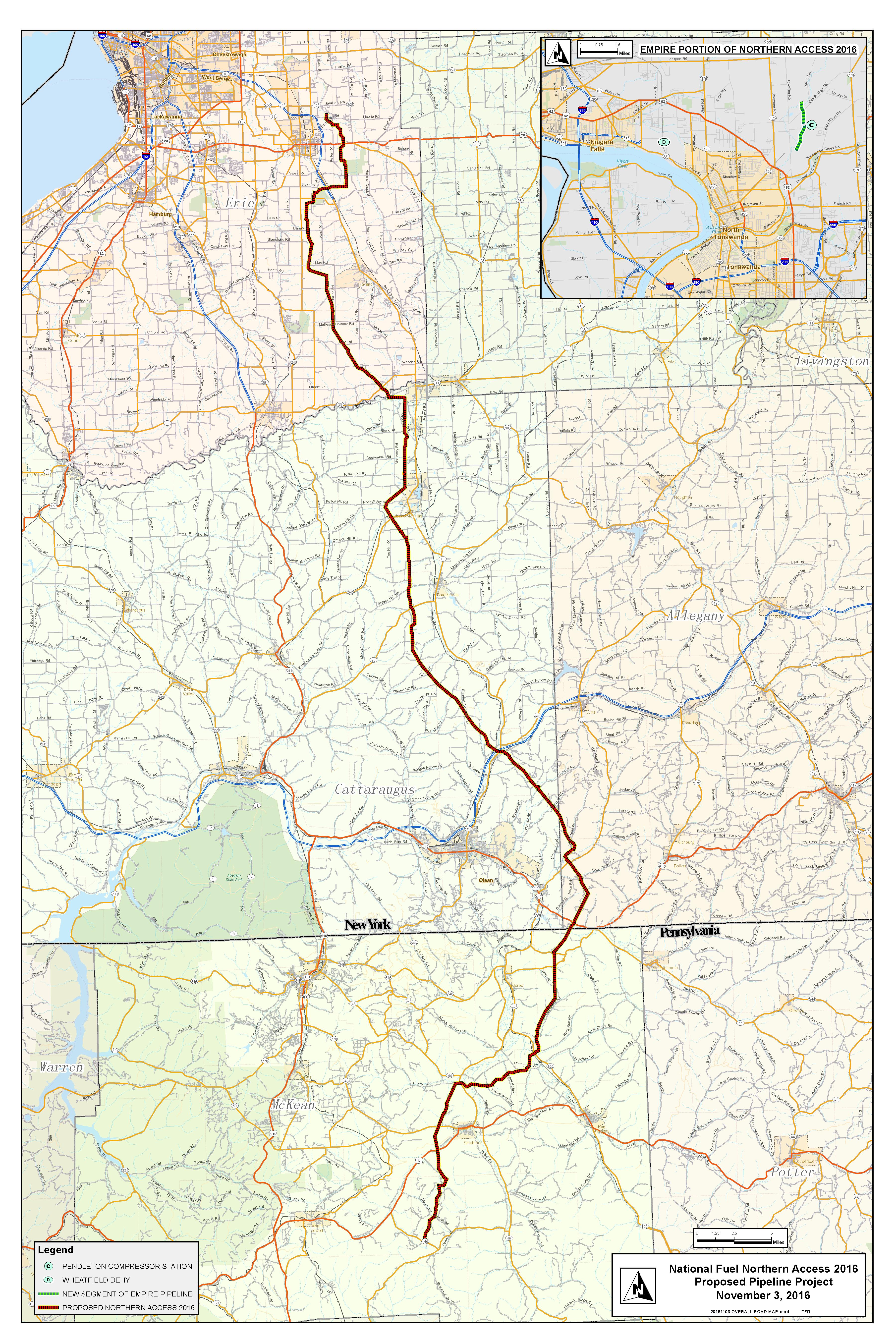cuomo pipeline blockade