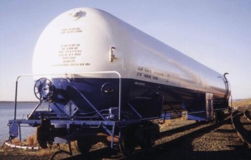 LNG by rail
