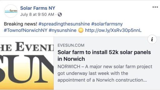 Norwich Solar Farm